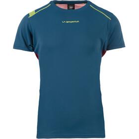 La Sportiva Blitz T-Shirt Men Opal/Chili
